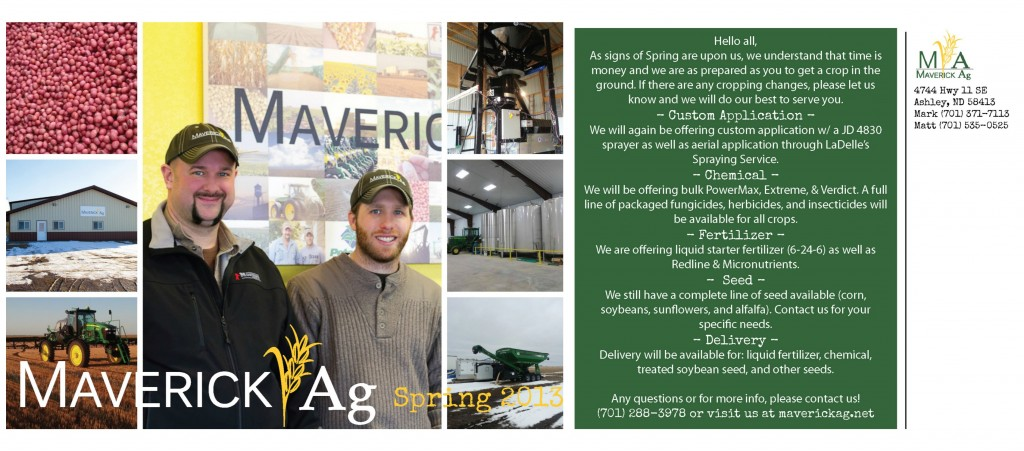 Maverick Ag Spring Update 2013